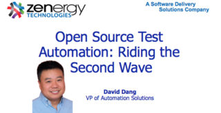 Open Source Test Automation: Riding the Second Wave