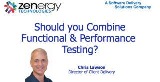 Should you Combine Functional and Performance Testing?