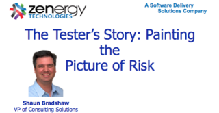 The Tester's Story: Painting the Picture of Risk